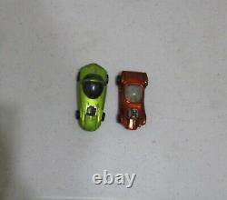 1967 Hot Wheels Drag Race Action Set No. 6202 with Box & 2 Redlines