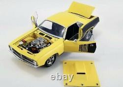 1972 Plymouth Hemi Cuda Vintage Drag Racing Yellow Black 118 Acme A1806118 Gmp