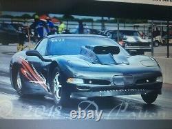 1997 corvette big tire 6.0 drag car