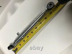2- BILLET Tubular Travel Limiters for Drag Race Car Performace-Quick Pin Adjust