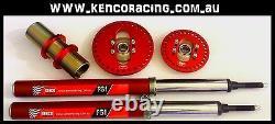 4 Cylinder Car Front Adjustable Strut Insert Shock Speedway Rally Drag Race Car