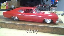 69 Chevy Nova Classis Red Ready to Race Drag Car WOW