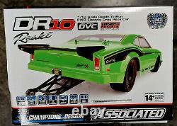 BOX DAMAGE #2, #70026R Team Associated DR10 Drag Race Car RTR 110 RTR, refurb