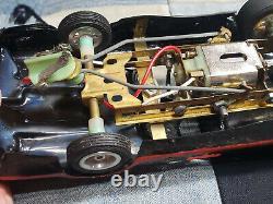 Batmobile 124 scale slot car Drag Race Car 1960s Large scale Batman