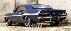 Classic 1969 69 Camaro Chevy Chevrolet Built 1 Vintage Drag Race 24 Car Model 12