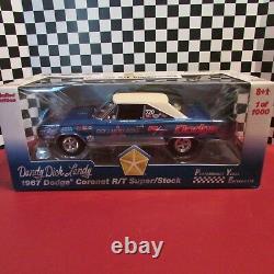 DCP/PYE, 1967 Dodge Coronet R/T, Dick Landy, Super/ Stock, 118 scale diecast car
