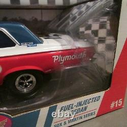 DCP/Supercar, 1965 Plymouth Belvedere, Sox & Martin'118 sc. Model, AWB, Issue #15