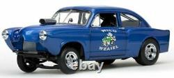 Dented Box 1951 KAISER HENRY J GASSER BLUE WEASEL 1/18 SUNSTAR-FREE SHIPPING