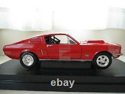 Ertl American Muscle Racing 1968 Ford Mustang Gt Drag Car 1/18 Diecast