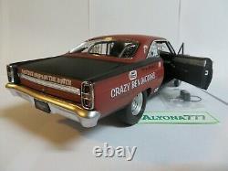 GMP 1/18 FORD Fairlane 1967 PORK CHOP Scarelane II DRAG Racing DIECAST CAR MODEL
