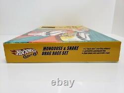 Hot Wheels Classics Mongoose & Snake Drag Race Set Volkswagen Bus NIB 2005 HTF