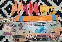 Hot Wheels Redline Snake Mongoose Drag Race Set Complete Original Nice COMPLETE