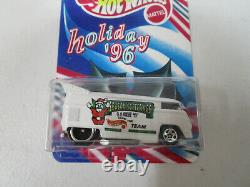 Hotwheels Holiday 1996 Employees Volkswagen Drag Bus This Is A Relpica