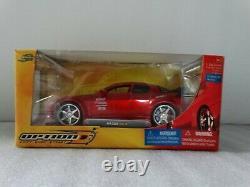 Jada Option D Mazda RX8 Rare Red! 124 Scale Diecast Car Drift Show Street