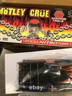 Jim Epler 124 Diecast Nitro Funny Car MOTLEY CRUE NHRA Drag Racing 1 OF 3000