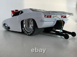 Muscle Resurrection Matte White 69 Chevy Satan Pro Mod Camaro