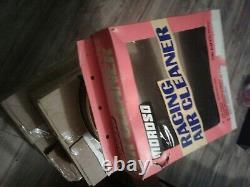 NEW IN BOX moroso air cleaner 14inch GOLD drag race car vintage collectable nice