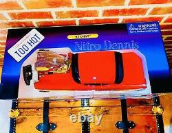 NHRA 57 Chevy 18 Diecast R/C MUSCLE MACHINES Drag Racing Car VERY RARE Nascar