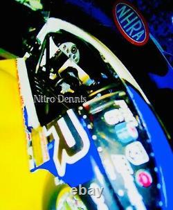 NHRA Allen JOHNSON Pro Stock 124 Diecast Drag Racing Car MOPAR Dodge RARE