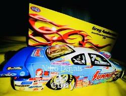 NHRA Greg ANDERSON Pro Stock 124 Diecast SUMMIT Drag Racing Car NITRO DENNIS