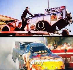 NHRA SCOTTY CANNON 124 Diecast NITRO Oakley FUNNY CAR Action DRAG RACING Signed