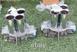 NOS Holley Dominator Carburetor 6 Inch Velocity Stacks 17-17 New In Box AWESOME