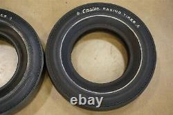NOS Vintage 15 Casler Cheater Slicks Drag Racing Tires Hot Rat Rod Gasser