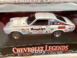 New 118 1972 Chevy Vega. Bill Grumpy Jenkins. # 3 in Chevy Legends Series