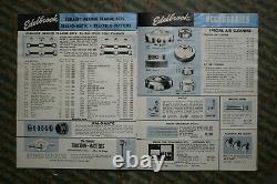 ORIGINAL Vintage EDELBROCK MOON Catalog 1959 INTAKE MANIFOLD HEADS TANK Hot Rod
