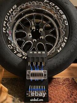 Race Car Fuse/ Relay Panel Block 4 Way Custom Universal LS Swap LSX Drag Harness