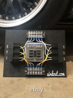 Race Car Fuse/ Relay Panel Block 6 Way LS Swap Custom Universal LSX Drag Harness