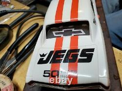 Race ready nobar 67 Chevelle drag slot car