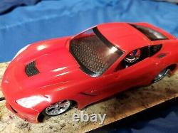 Race ready nobar Corvette drag slot car