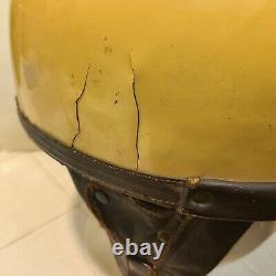 Rare 1940's Floyd Clymer Race Crash Helmet Bonneville Gilmore Muroc Drag Racing