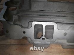 Rare C16 348 409 Weiand Drag Star 6x2 Aluminium Intake manifold Chevy impala1958
