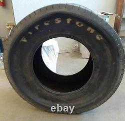 Rare Nos Firestone 7.50/14.00 16w Rear Grooved Tires Hot Rod Dirt Track