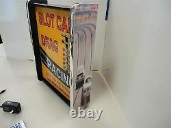Slot car Drag Racing LED Display light sign box