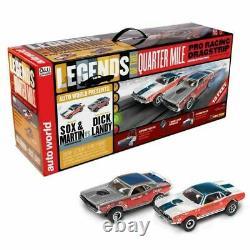 Sox & Martin / Dick Landy Auto World Legends Of The Quartermile Slot Car Track
