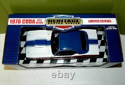 Supercar Ltd. Ed. Sox & Martin'70'CUDA P/S Heritage Racing Series 1 See Pics