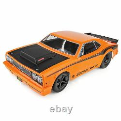 Team Associated 1/10 DR10 2 Wheel Drive Drag Race Car Brushless RTR Orange