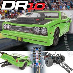 Team Associated 1/10 DR10 Drag Race Car Ready to Run Green ASC70026 IN STOCK