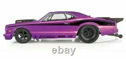 Team Associated DR10 RC Drag Race Car 1/10 Brushless 2WD Purple