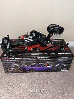 Traxxas Drag Slash 1/10 RC RTR Electric 2WD No Prep Race Truck/Car Black Color