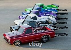 Traxxas Drag Slash 1/10 RC RTR Electric 2WD No Prep Race Truck/Car Blue