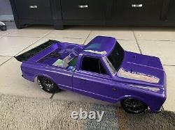 Traxxas Drag Slash 1/10 RC RTR Electric 2WD No Prep Race Truck/Car in Purple