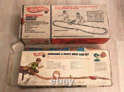 Vintage HOTWHEELS Mongoose & Snake Drag Race Super Charger Sprint SET INCOMPLETE