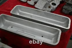 Vintage OFFENHAUSER 303 324 OLDSMOBILE VALVE COVERS Hot Rod Custom V8 olds offy