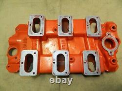 Weiand C16 Drag Star 6x2 Aluminum Intake manifold Chevy Impala Rare 348 409