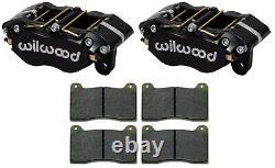 Wilwood Ndp Brake Calipers, Pads, 0.81 Rotors, 1.75, Rally Car, Off-road Racing, Drag
