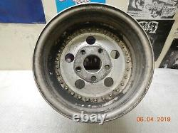 15x12 Centerline Wheel 5 Sur 5 Slicks Drag Race Car Dragster Chevy Gm Fenton